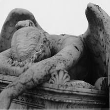 angel sad statue